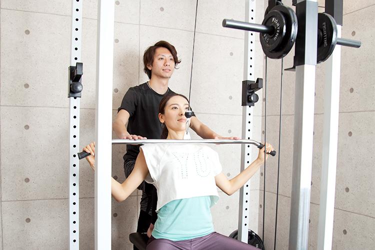 rinatoウエイトトレーニング